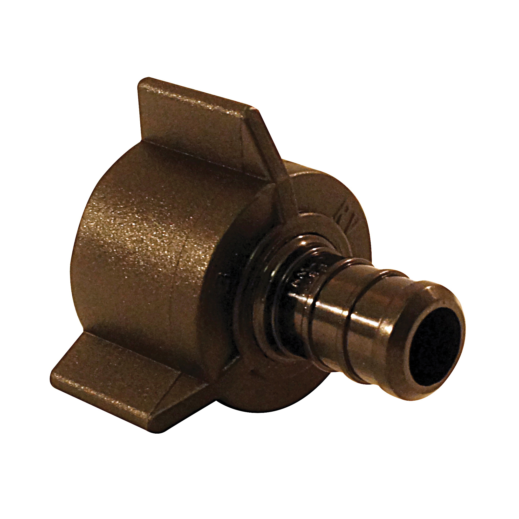 Picture of Apollo ApolloPEX PXPAF1212S5PK Swivel Adapter, 1/2 in, Barb x FPT, Poly Alloy, 200 psi Pressure