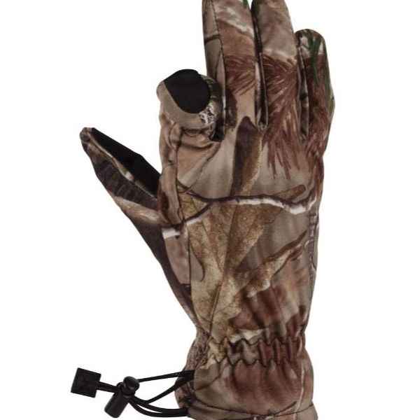 Picture of Carhartt A522-CAMO-2XL Magnet Camo Gloves, Men's, 2XL, Gauntlet Cuff, Synthetic, Realtree Xtra