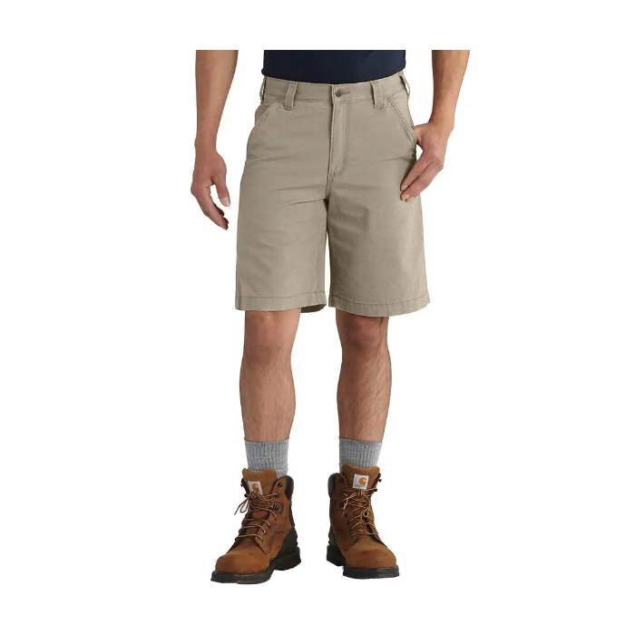 Picture of Carhartt 102514-232-34 Rigby Shorts, 34 in, Cotton/Spandex, Tan