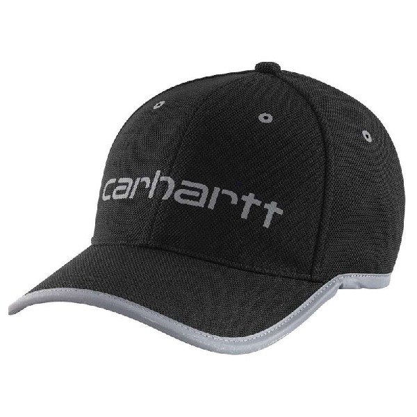 Picture of Carhartt 102500-001 Graphic Cap with Visor, Men's, One-Size, Polyester, Black