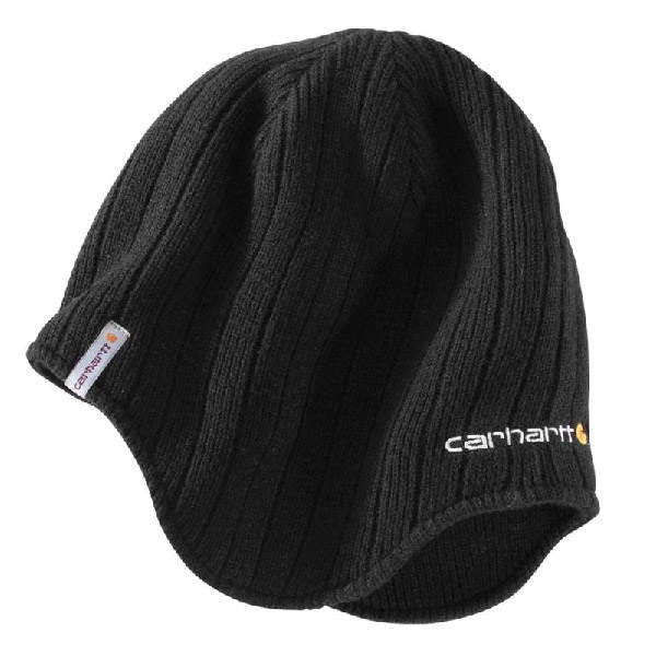Picture of Carhartt 100779-001 Firesteel Hat, Men's, One-Size, Acrylic, Black