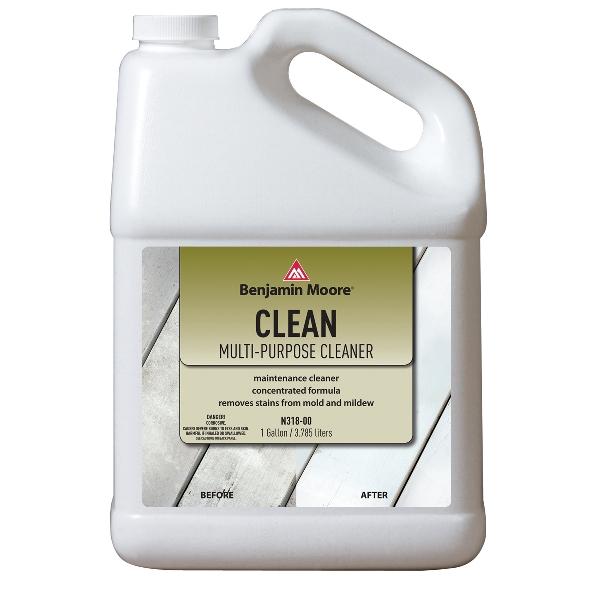 Picture of Benjamin Moore N31800-001 Cleaner, Liquid, Slight Chlorine, Light Green, 1 gal, Can