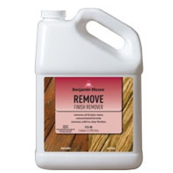 Picture of Benjamin Moore 031500-001 Stain Remover, Liquid, Mild, Purple, 1 gal, Can