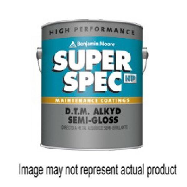 Picture of Benjamin Moore Super Spec HP 0P242B-001 Maintenance Coating, Semi-Gloss, 1 gal, Can