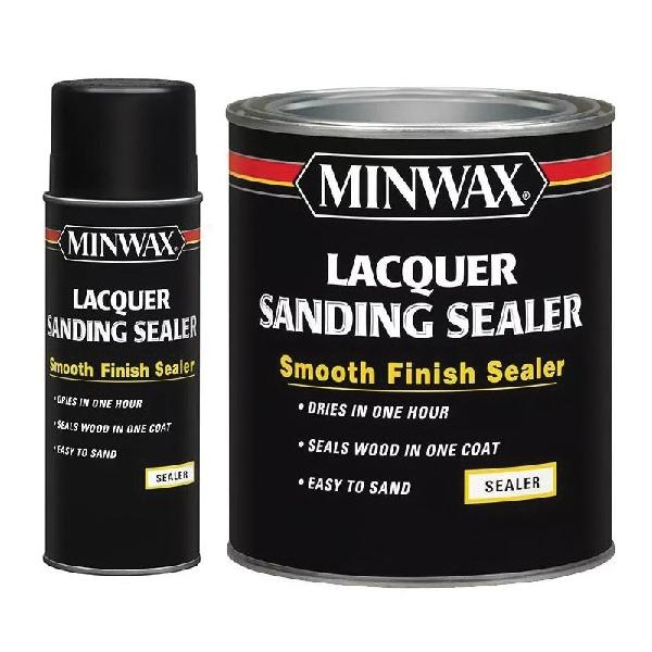 Picture of Minwax 154000000 Sanding Sealer, Liquid, 1 qt, Can
