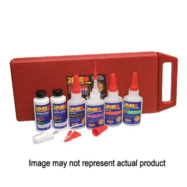 Picture of Fastcap 8276010 Adhesive Kit, Liquid, Pungent, Transparent, 2.25 oz Package, Bottle