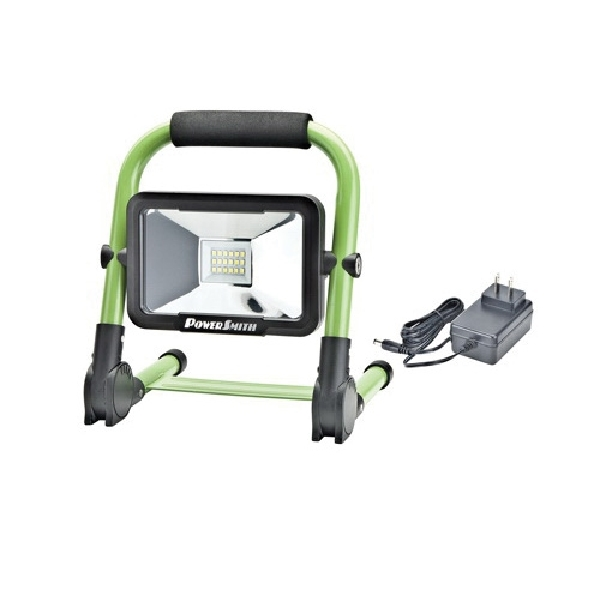 Picture of PowerSmith PWLR1110F Rechargeable Work Light, 10 W, Lithium-Ion Battery, 1-Lamp, LED Lamp, 900, 400, 200 Lumens