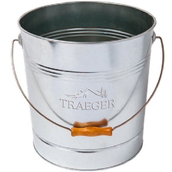 Picture of Traeger BAC430 Pellet Storage Bucket, Galvanized Steel, 11.42 in OAL