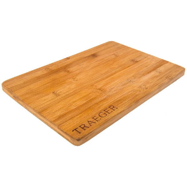 Picture of Traeger BAC406 Cutting Board, 13-1/2 in L, 9-1/2 in W, Bamboo