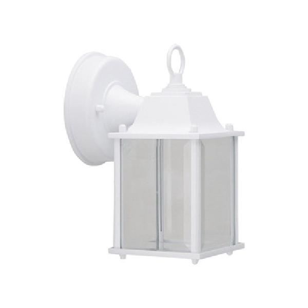 Picture of Boston Harbor 0038-WD-WH Wall Lantern, LED Lamp, 320 Lumens, 3000 K Color Temp, Aluminum Fixture