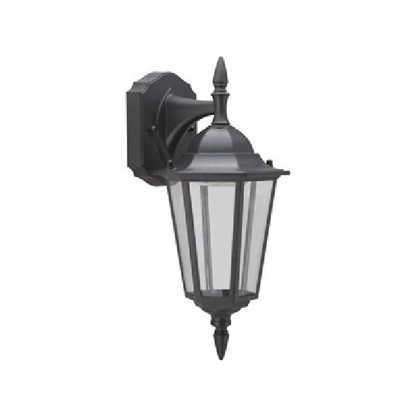 Picture of Boston Harbor 0024-WD-2PK Wall Lantern, LED Lamp, 300 Lumens, 3000 K Color Temp, Aluminum Fixture