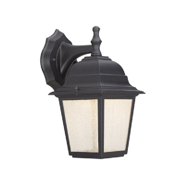 Picture of Boston Harbor WD-4AC Wall Porch Light Fixture, LED Lamp, 500 Lumens, 3000 K Color Temp, Black