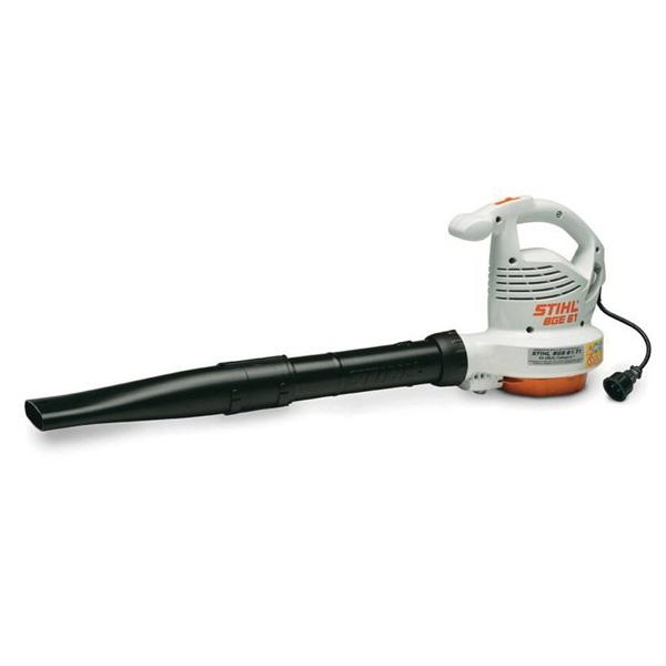 Picture of STIHL BGE 61 Handheld Blower, 9.2 A, 120 V, 1.1 kW, 285 cfm Air, Gray/Orange