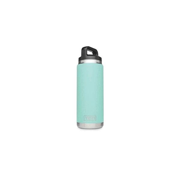 Picture of YETI Rambler YRAMB26SF Bottle, 26 oz Capacity, Stainless Steel, Seafoam
