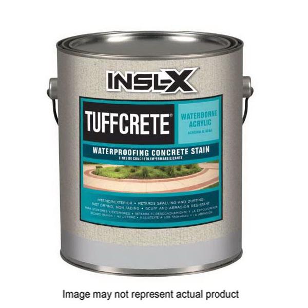 Picture of Benjamin Moore TuffCrete CST2110099-01 Concrete Stain, Satin, White, Liquid, 1 gal, Can