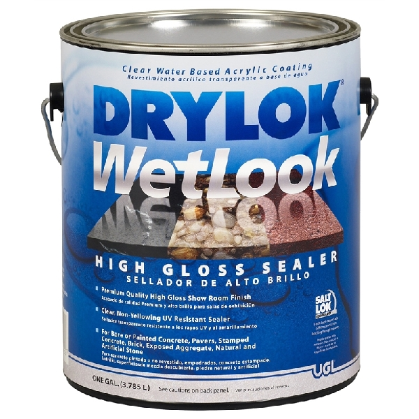 Picture of UGL DRYLOK 28913 Wet Look Sealer, Liquid, 1 gal Package