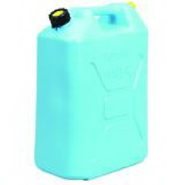 Picture of Scepter 04933 Water Container, 5 gal Capacity, Polyethylene, Light Blue, 13.3 in L, 7.3 in W, 18.3 in H