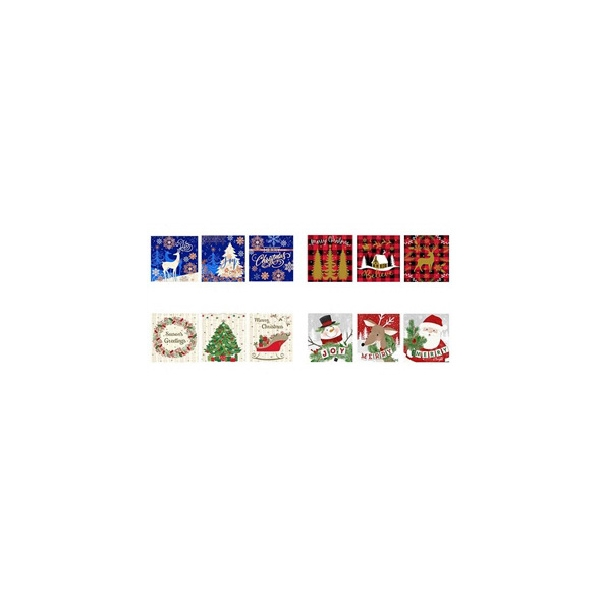 Picture of Santas Forest 69341 Nested Deluxe Square Box Set