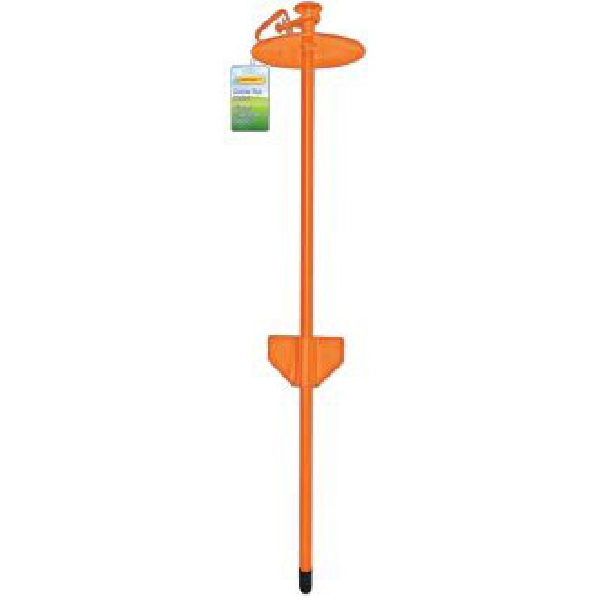 Picture of RUFFIN'IT 00004 Dome Top Tie-Out Stake, Heavy-Duty, Steel, Green
