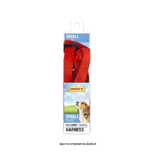 Picture of RUFFIN'IT 41472 Adjustable Harness, 5/8 in x 14 to 20 in, Fastening Method: Buckle, Nylon Harness, Assorted