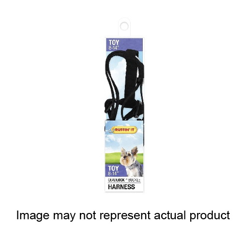 Picture of RUFFIN'IT 41471 Adjustable Harness, 3/8 in x 8 to 14 in, Fastening Method: Buckle, Nylon Harness, Assorted