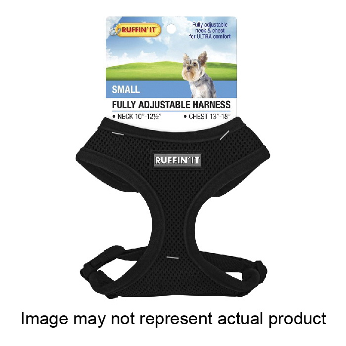 Picture of RUFFIN'IT 41462 Fully Adjustable Harness, 10 to 12-1/2 in x 13 to 18 in, Mesh Fabric Harness, Assorted