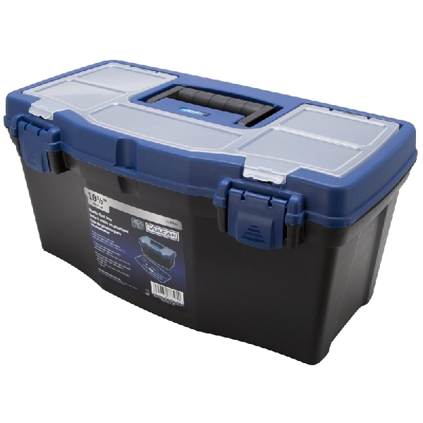 Picture of Vulcan 320100 Tool Box, Plastic, 19-1/2 in L x 10-1/2 in W x 9-1/2 in H Outside