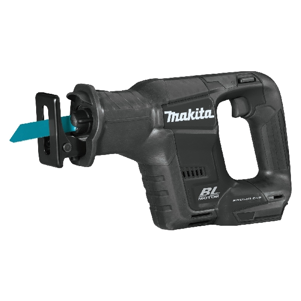 Picture of Makita XRJ07ZB Reciprocating Saw, Bare Tool, 18 V Battery, 2 Ah, 5-1/8 in Pipe, 10 in Wood Cutting Capacity