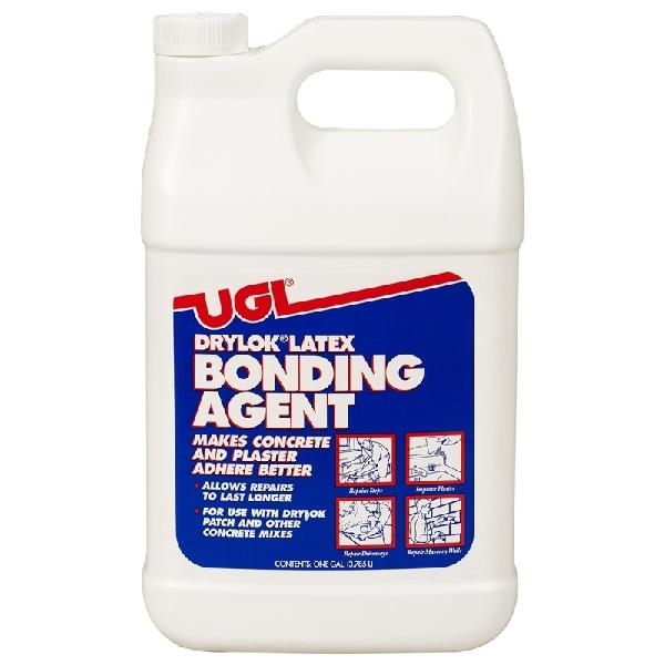 Picture of UGL DRYLOK 22213 Latex Bonding Agent, Liquid, Ammonia, White, 1 gal Package