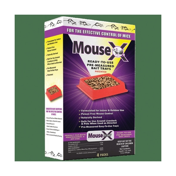 Picture of MouseX 620107 Bait Tray, 9.6 oz Package, Pack