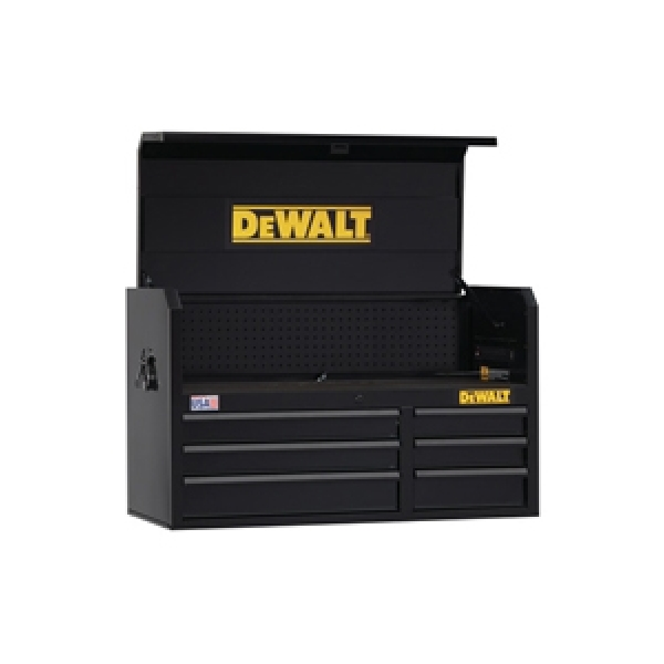 Picture of DeWALT DWST24062 Tool Chest, 12,348 cu-in, 40-1/2 in OAW, 24-1/2 in OAH, 18 in OAD, Steel, Black, 6 -Drawer