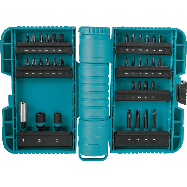 Picture of Makita ImpactX A-98326 Driver Bit Set, 35 -Piece, Steel, Black, Manganese Phosphate