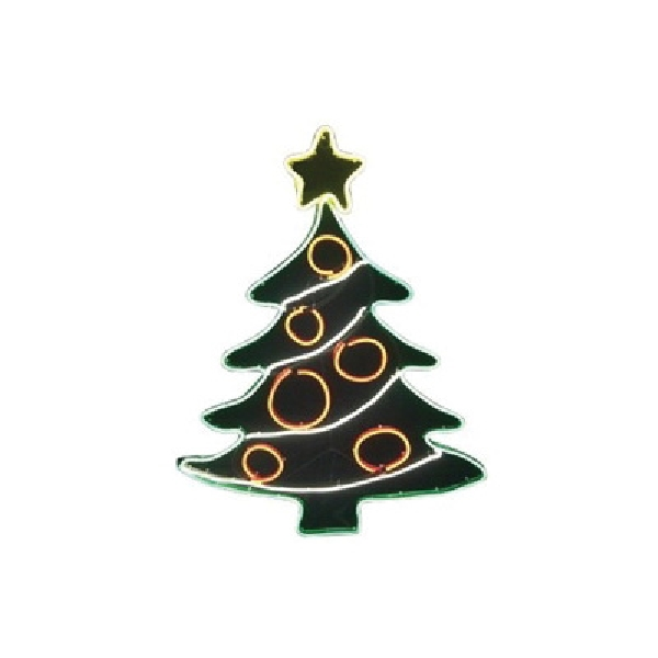 Picture of Santas Forest 62317 Christmas Tree, Neon LED Bulb