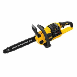 Picture of DeWALT FLEXVOLT DCCS670X1 Brushless Chainsaw Kit, 3 Ah, 60 V Battery, Lithium-Ion Battery, 16 in L Bar/Chain, Red