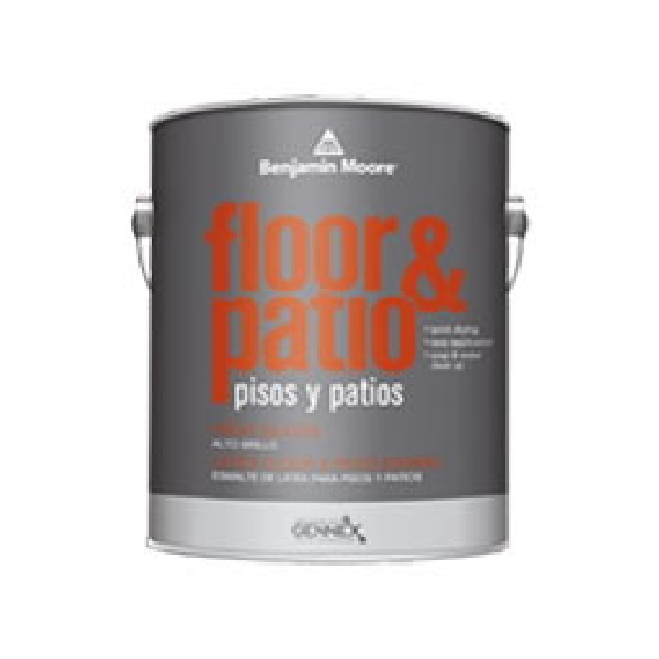 Picture of Benjamin Moore 01212X-004 Floor and Patio Enamel, High-Gloss, Medium Base, 1 qt Package, Container