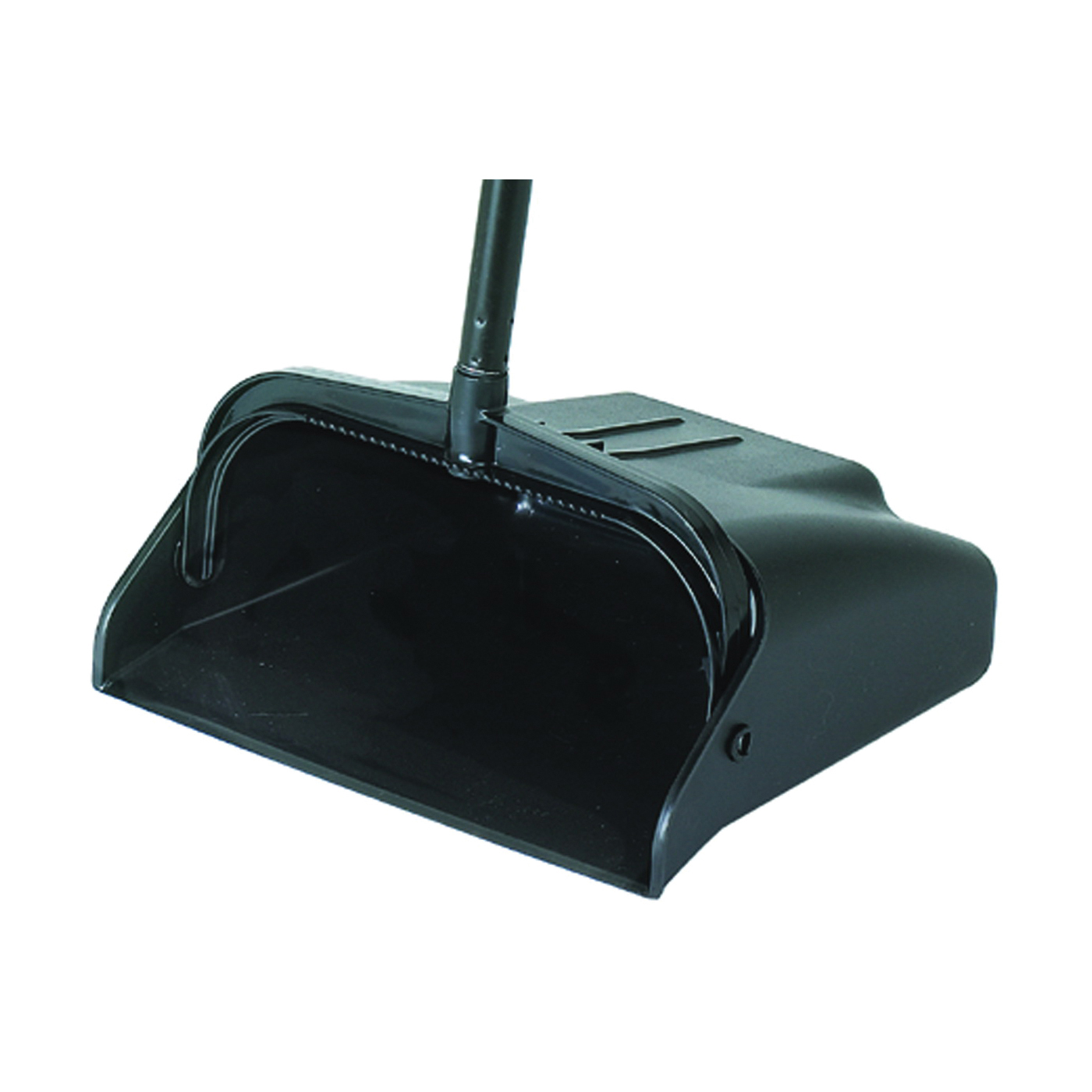 Picture of CONTINENTAL COMMERCIAL 912BK Lobby Dustpan, 36-3/4 in L, 10-3/4 in W, Plastic, Black