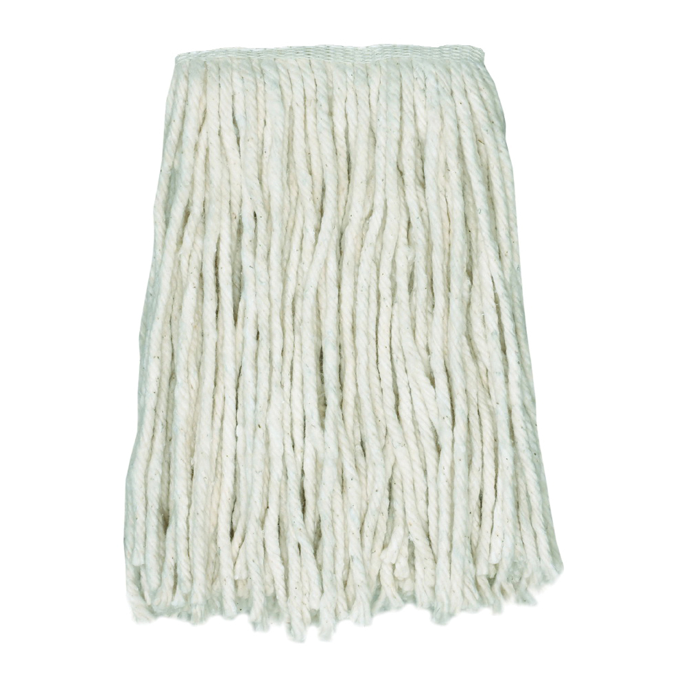 Picture of CONTINENTAL COMMERCIAL CHOICE A947118 Mop Head, 1-1/4 in Headband, Cotton, Natural