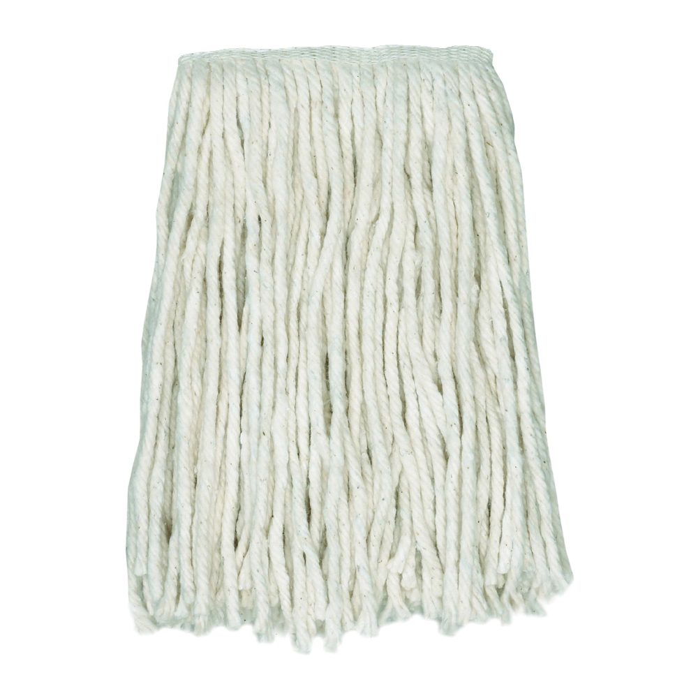 Picture of CONTINENTAL COMMERCIAL CHOICE A957124 Mop Head, 1-1/4 in Headband, Cotton, Natural