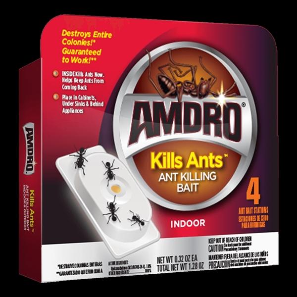 Picture of Amdro Kills Ants 100522408 Ant Killing Bait, Gel, 1.28 oz Package