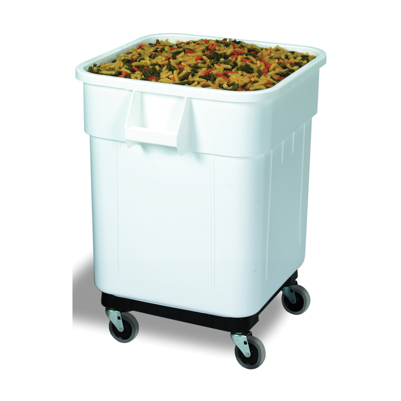 Picture of CONTINENTAL COMMERCIAL 9332 Ingredient Bin, 32 gal Capacity, Plastic, White, 25 in L, 21-1/2 in W, 27-1/2 in H