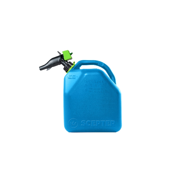 Picture of Scepter FR1K501 Kerosene Container, 5 gal Package, HDPE, Blue