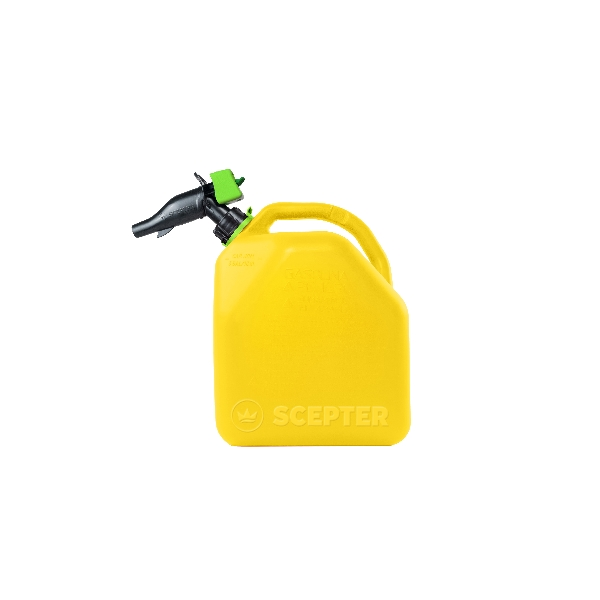 Picture of Scepter FR1D501 Diesel Container, 5 gal Package, HDPE, Yellow
