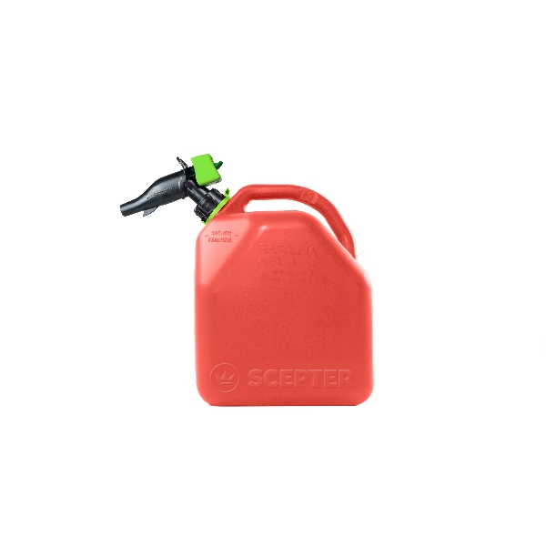 Picture of Scepter FR1G501 Gas Can, 18.8 L Capacity, HDPE, Red