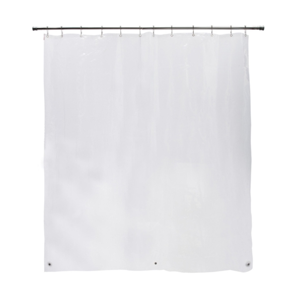 Picture of Kenney KN61443 Shower Liner, 72 in L, 70 in W, PEVA, Clear