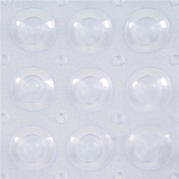Picture of Kenney KN61292 Bath Mat, 31 in L, 15 in W, Vinyl, Clear