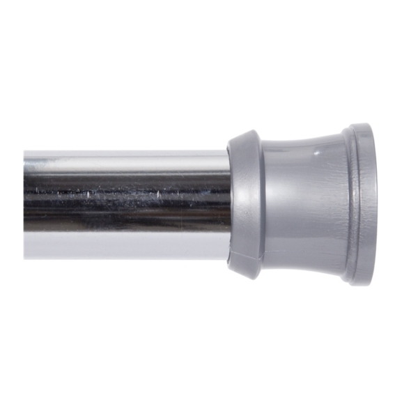 Picture of Kenney KN609L/1 Shower Tension Rod, 42 to 72 in L Adjustable, Steel