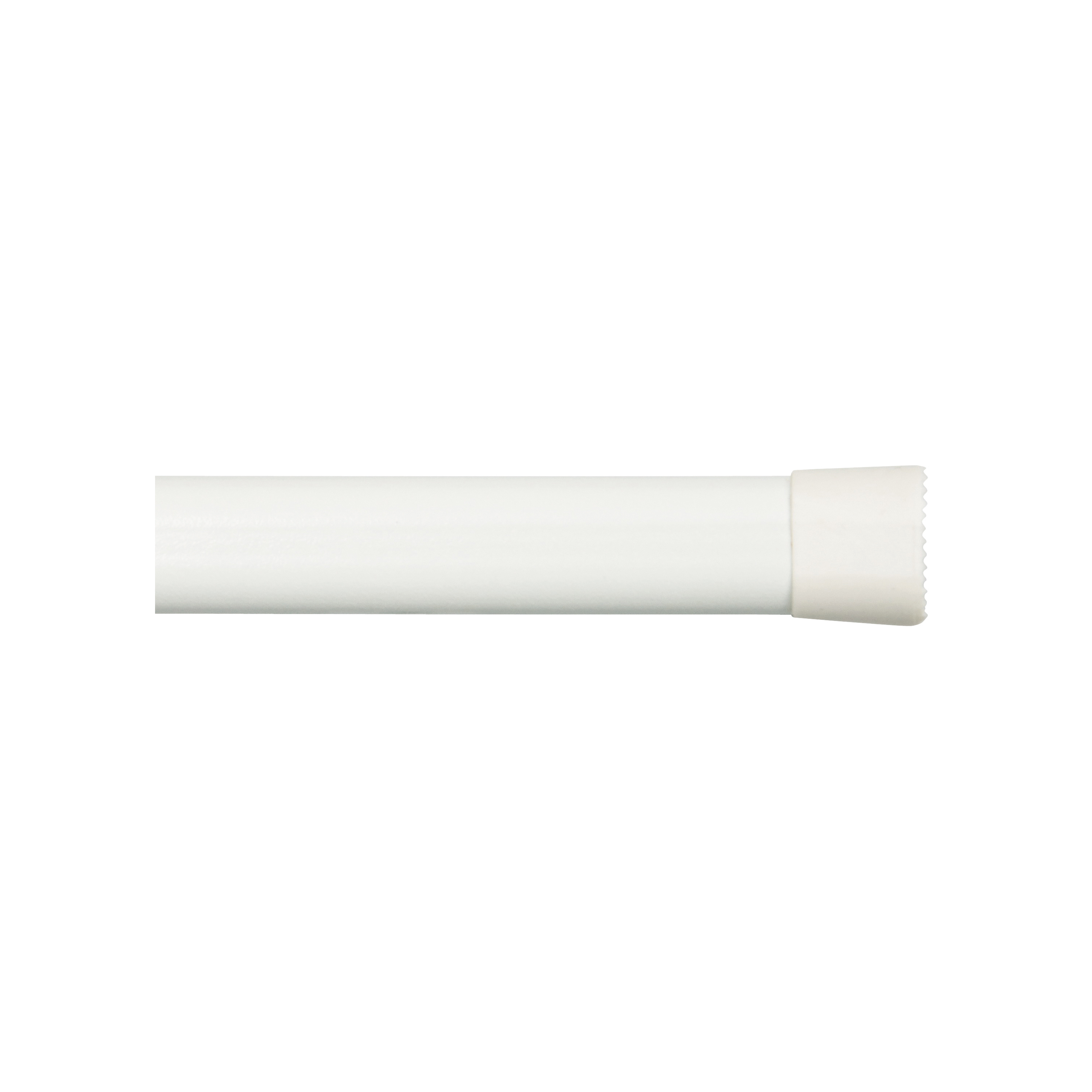 Picture of Kenney KN618 Spring Tension Rod, 5/8 in Dia, 48 to 84 in L, Metal, White