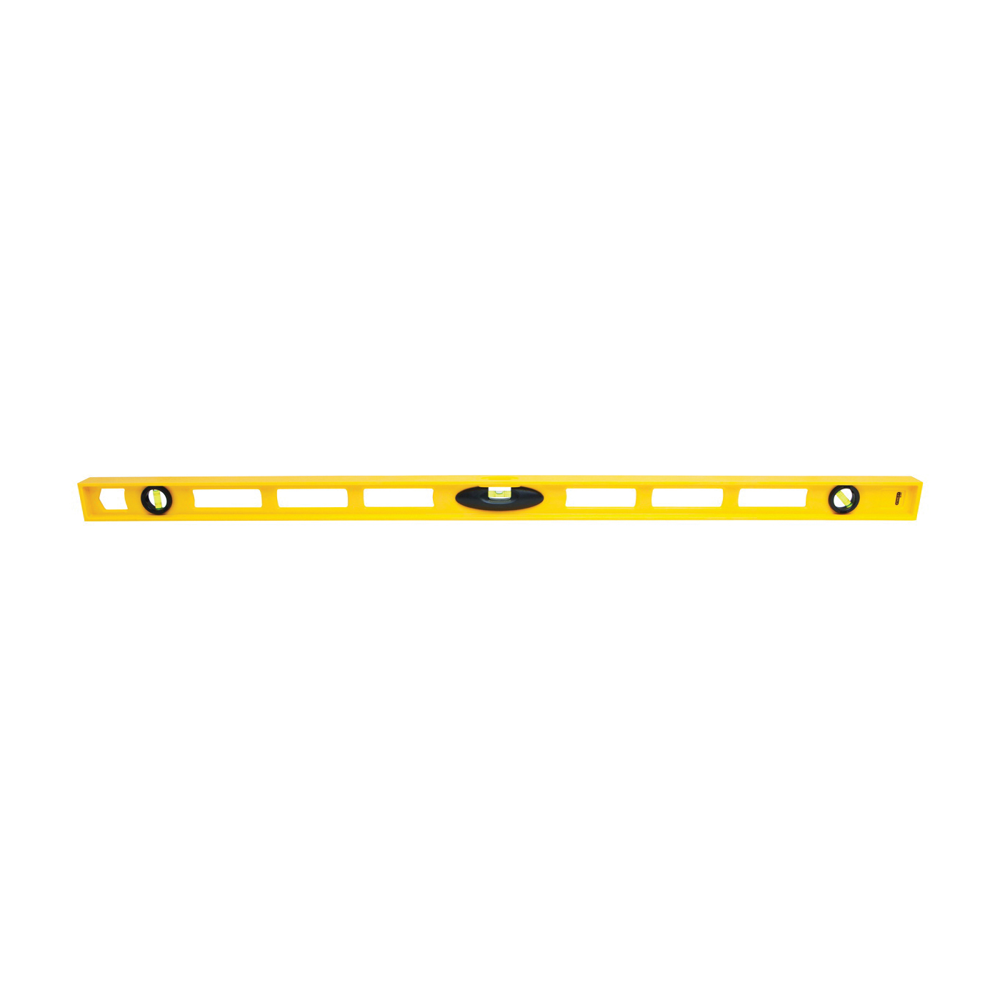 Picture of STANLEY 42-470 I-Beam Level, 48 in L, 3 -Vial, 2 -Hang Hole, Non-Magnetic, ABS, Yellow