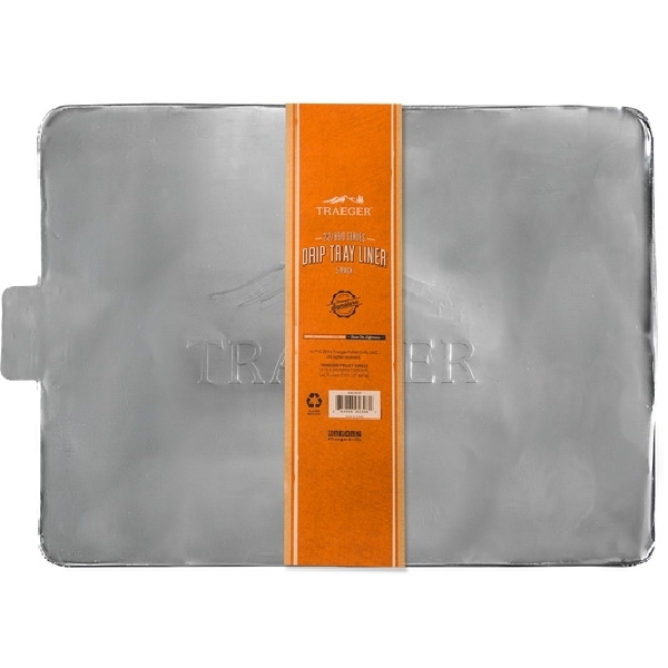 Picture of Traeger BAC409 Drip Tray Liner, Aluminum