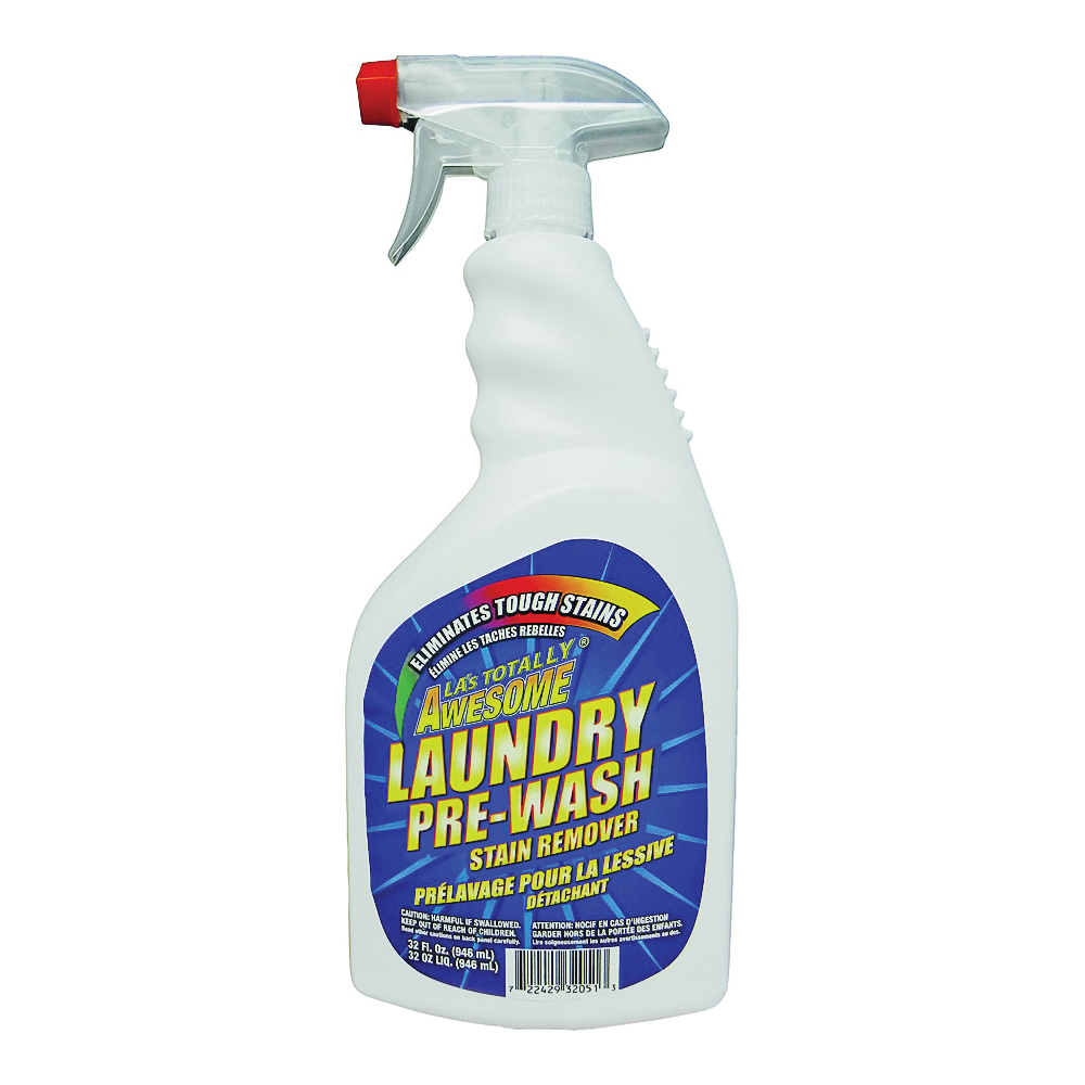 Picture of LA's TOTALLY AWESOME 206 Laundry Pre-Wash Strain Remover, 32 oz Package, Bottle